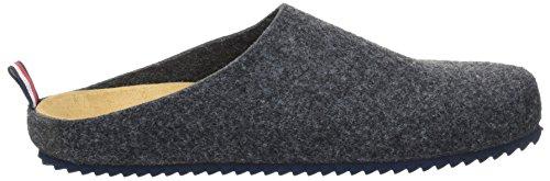 Tommy Hilfiger D2285onny 1d, Pantofole Uomo Grigio (Magnet)