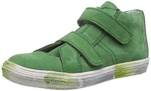 Däumling Anni - Alexa Unisex-Kinder Hohe Sneakers Grün (Turino gras55)