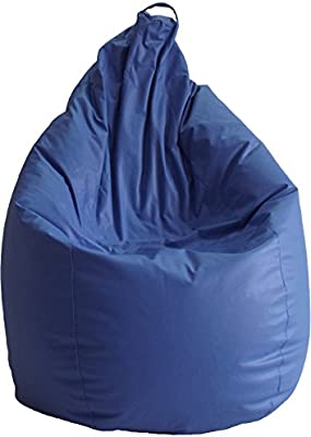 Puff de Pera niños Polipiel Azul (80x80x105)