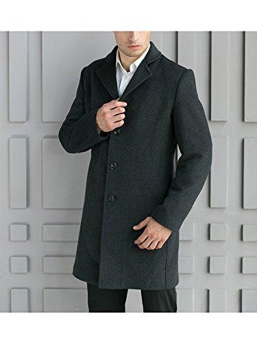 OCHENTA -  Cappotto  - Impermeabile - Maniche lunghe  - Uomo #04 Grey