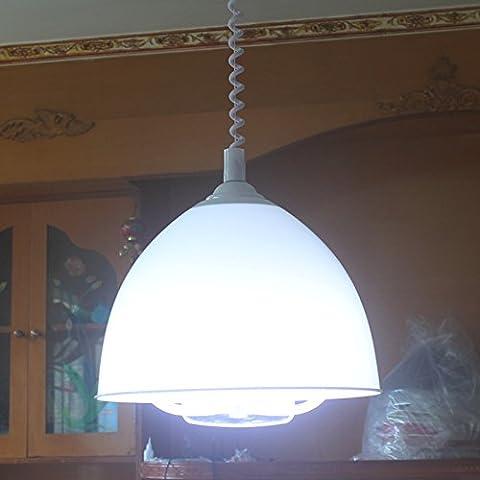 XPENGY Lampadario a bracci In stile vintage Le luci pendenti Soggiorno / Camera da letto / Sala da pranzo / cucina / sala di studio , Bianco latte