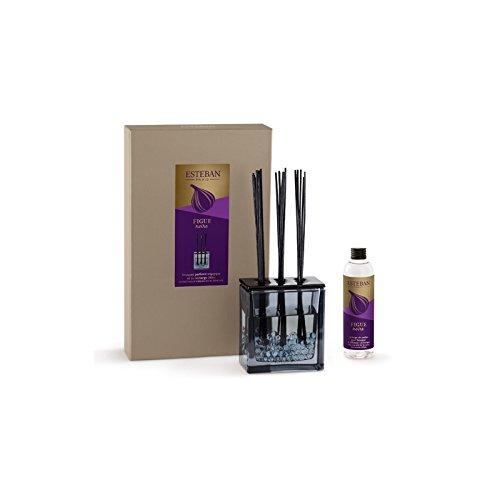 ESTEBAN Vaso diffusore profumo casa FIGUE NOIRE 250ml a bacchette