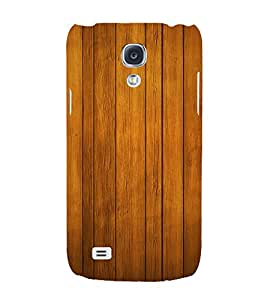 Beautiful Wood Design 3D Hard Polycarbonate Designer Back Case Cover for Samsung Galaxy S4 Mini i9190