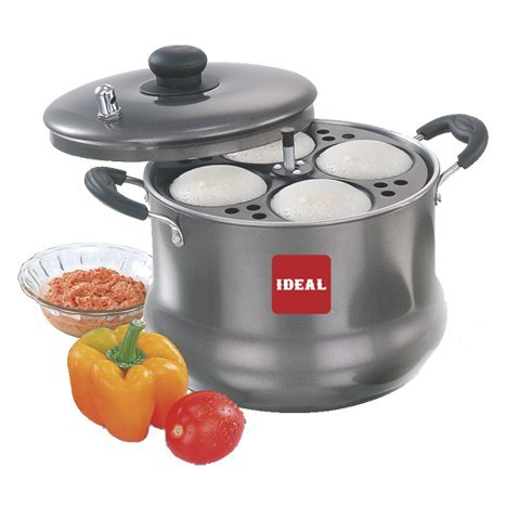 Ideal Nonstick Idly Maker Chubby Large -24 Idlies Induction Base