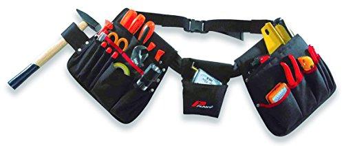 Plano Werkzeuggürtel mit 3 Taschen und Hammerschlaufe insgesamt 23, 52170TB