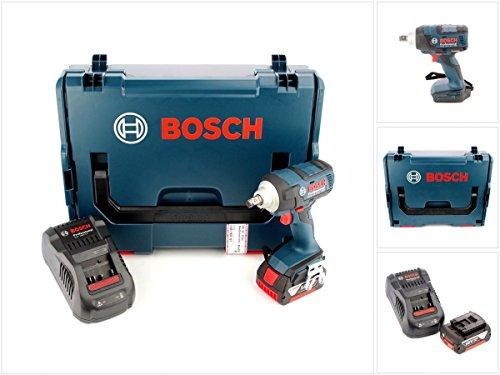 Preisvergleich Produktbild Bosch GDS 18 V-EC 250 Professional brushless Akku Dreh Schlagschrauber in L-Boxx, Schnellladegerät und 1x GBA 6 Ah Akku