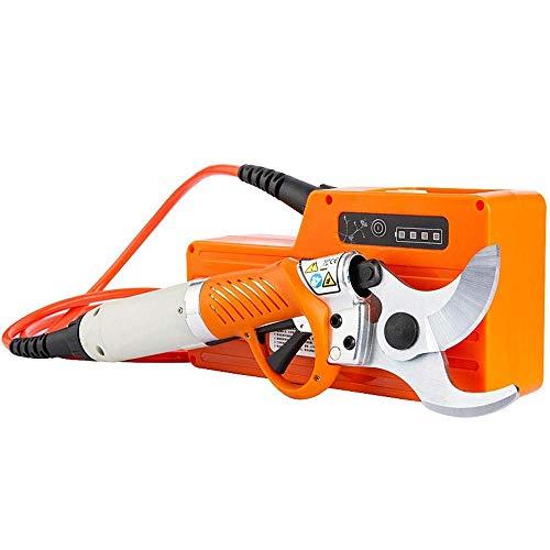 AOPOW Professionelle elektrische Astscheren 450-Watt Gartenschere zum schnellen Beschneiden von Ästen, 8-10 Stunden ununterbrochene Arbeitszeit / 110~240 V Schneidfähigkeit