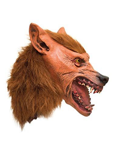 TrendClub100® Latex Tier Maske - Wolf Wolf-latex-maske