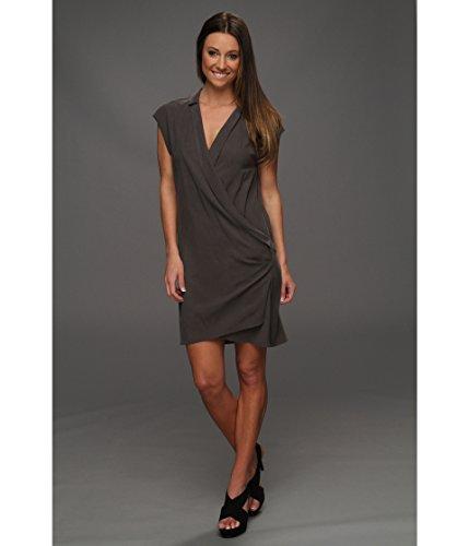 Wrap vorne Kleid Gr. 4, Schwarz - Schwarz -