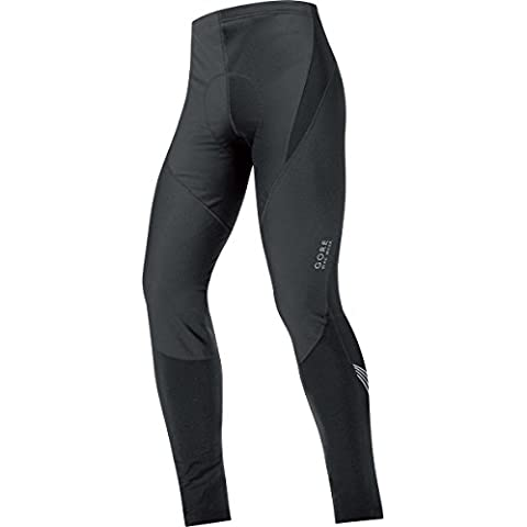 Gore Bike Wear +Element Windstopper Soft Shell - Mallas largas para hombre, color negro, talla M