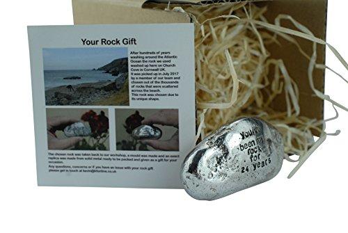 Pirantin 24th-Geschenk für Damen und Herren You 've Been My-Rock, aus Metall, Rock -