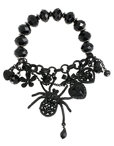 betsey-johnson-pitch-black-charm-half-stretch-bracelet-by-betsey-johnson