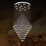 Kronleuchter Moonlight - Kristall, Inklusive Glühbirne, Designer, 110-120V / 220-240V, Wärm Weiß/Kühl Weiß, Inklusive Glühbirne / GU10