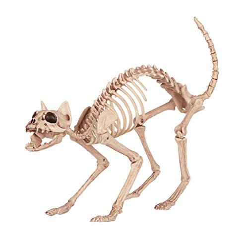 LXYFMS Tier Skelett Knochen Frame Horror Bar Film Requisiten Halloween liefert