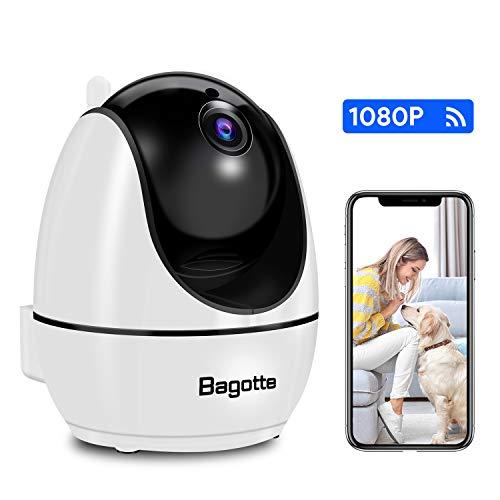 Bagotte WiFi 1080P Cámara IP Vigilancia Interior
