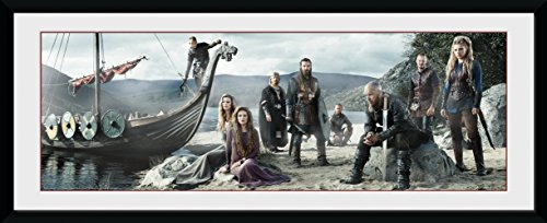 GB Eye LTD, Vikings, Playa, Fotografía enmarcada 30x75 cm