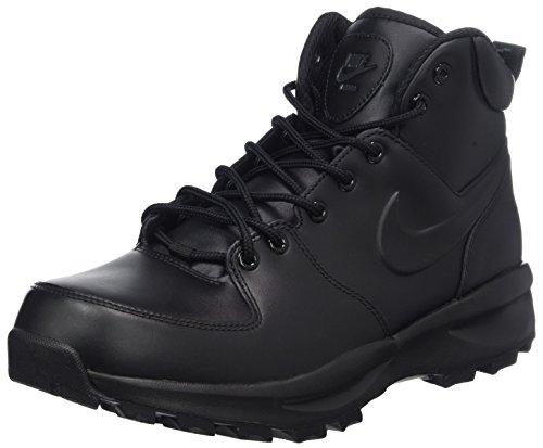 Nike 454350 700 Manoa Leather Herren Sportschuhe/Wandern, Schwarz, 45.5 EU -
