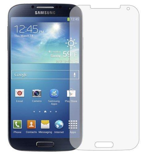 3 x Membrane Films de protection d'écran Samsung Galaxy S4 (GT-i9500 / i9505 LTE / i9502 Duos / Google Edition / S4 Value Edition GT-i9515) - Ultra clair (Invisible), Résistant aux éraflures, Emballage d'origine et accessoires
