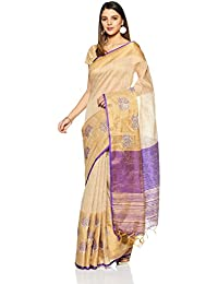 Aalia Art Silk Embroidered Saree with Blouse piece