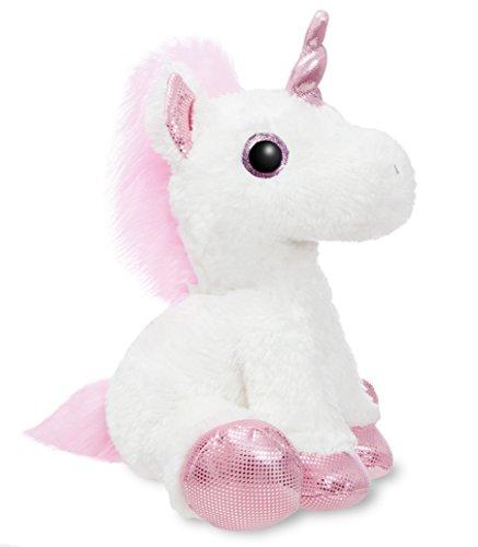 Aurora World 60854Sparkle Tales Princess Unicorn 12in bianco