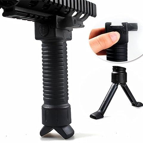 Tekon Bipied pour airsoft ou paintball avec poignée 20mm
