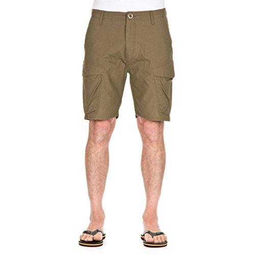 Pantaloni Corti Con Tasconi Volcom Silent Ii 22 Inches Teak (32 Vita = Eu 46 , Marrone)
