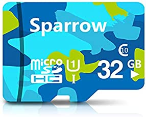 Sparrow 32 GB Class 10 U1 Micro SDHC1 Memory Card with Adapter