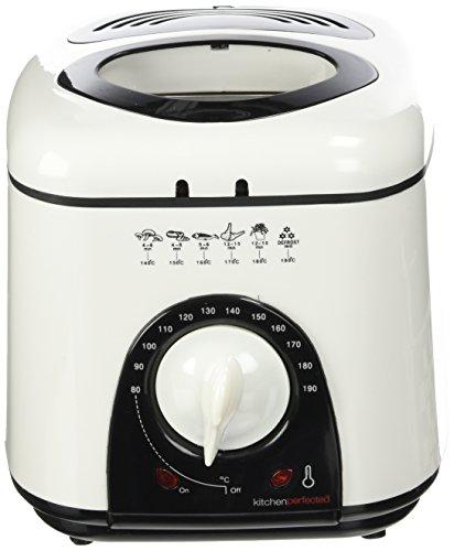 Lloytron E6010WI Kitchen Perfected Compact Deep Fryer, 1 Litre