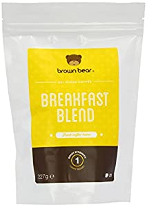 Brown Bear Breakfast Blend Light Roast Whole Bean Coffee