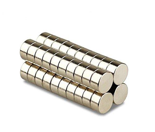 Magnetastico   5 Stück Neodym Magnete N52 Scheibe 20x10 mm   Ultra Starke Magnete   Starker Dauermagnet Permanentmagnet Bastelmagnet Haftmagnet Scheibenmagnet -