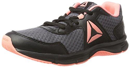 Express Runner, Zapatillas de Running para Mujer, Negro (Black/Ash Grey/Sour Melon/White), 40 EU Reebok