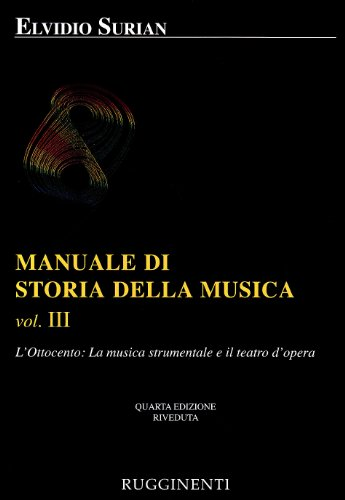 Manuale di storia della musica: 3