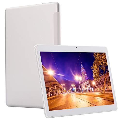 "Tablet PC, 4G Tablets 10.1\"" Zoll(6 GB RAM, 64 GB eMMc, Deca Core, IPS 1920x1200, Android 8.0, Dual SIM Dual Standby,Bluetooth,WiFi,OTG,GPS) Silver"