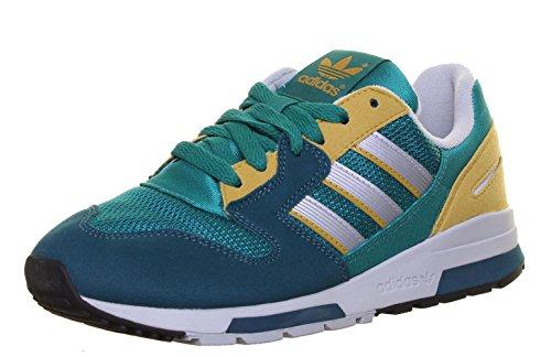 Adidas Zx 420-Sneaker di pelle scamosciata, da donna Green FA