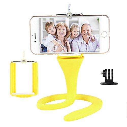 Teepao flessibile fotocamera del telefono per iPhone//8x 8PLUS/7/7PLUS/6s/6P/5S/Galaxy S5/S6/S7/S8/LG/Huawei auto Bike per GoPro Action Sport fotocamera supporto treppiede selfie stick
