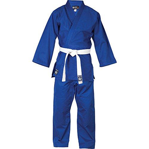 Blitz Sports Baumwoll Student Judo Anzug - blau 100cm