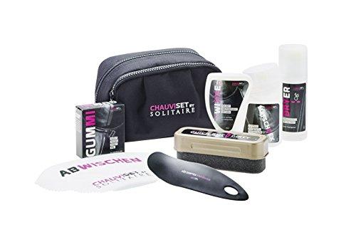 Graf Sheepskin Care Kit - Kit de cuidado de zapatos, color Negro, talla 0