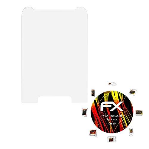 atFolix Schutzfolie kompatibel mit Cyrus cm 15 Bildschirmschutzfolie, HD-Entspiegelung FX Folie (3X)