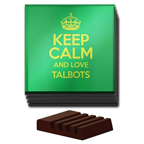 verde-juego-de-4-posavasos-de-cristal-de-keep-calm-and-love-talbots-color-1619
