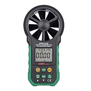 Aimometer MS6252B Digital Anemometer Air Speed Velocity Air Flow Meter