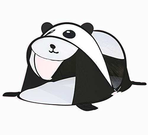 LJJYN Einhorn Zelt Kind draussen Innen- Komplett automatisch tragbar Ultraleicht Junge Mädchen Karikatur Spielzeugraum Pop-up Zelt,Panda,182 * 96 * 86cm