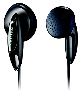 Philips in-ear headphones SHE1350/00 in-ear headphones (powerful sound, bass beat vents, 1-m cable, open-back) black