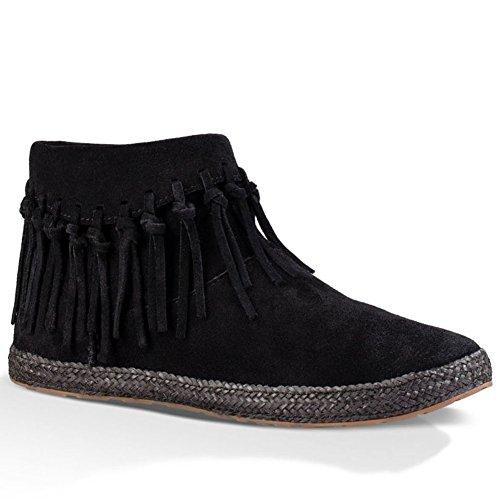 UGG - Stivali con le frange Donna Nero
