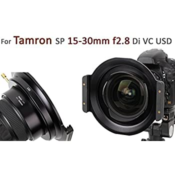Haida Vollmetall 150er Serie Filterhalter für Tamron SP 15-30mm f2.8 Di VC USD und HD PENTAX-D FA 15-30mm F2.8 ED SDM WR