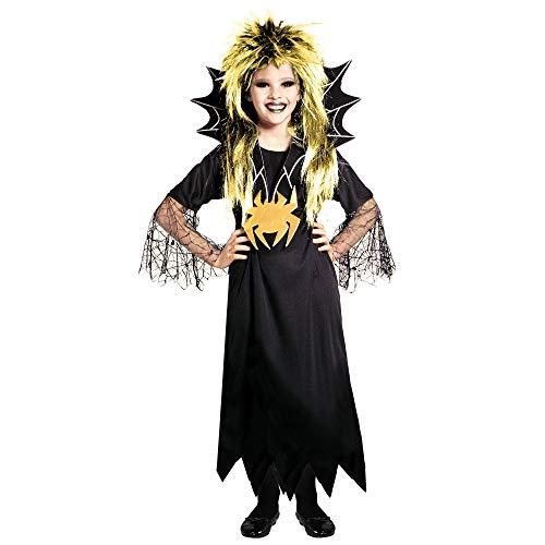 WIDMANN Widman - Disfraz de Spidergirl Para Halloween para niño, talla 140 (38307)