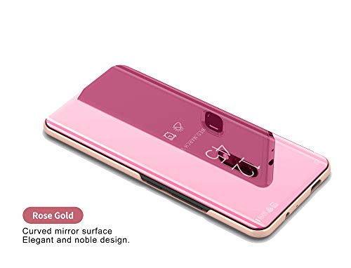 Samsung Galaxy J6 2018 Espejo Funda Espejo Flip Case