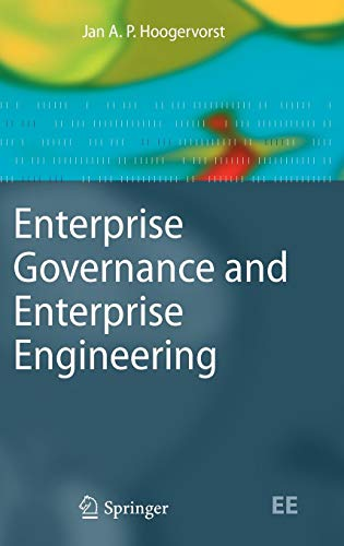 Enterprise Governance and Enterprise Engineering (The Enterprise Engineering Series) - Ap Computer B Science