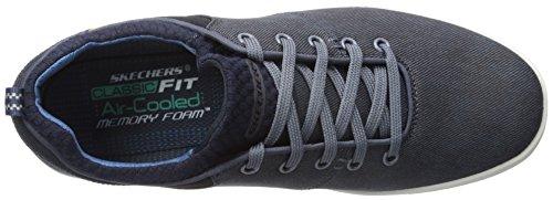Uomo scarpa sportiva, colore Blu , marca SKECHERS, modello Uomo Scarpa Sportiva SKECHERS 64964S Blu Navy