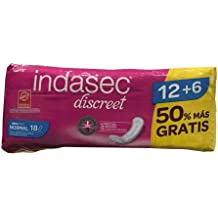 Compresa incontinencia indasec normal 12+6u.