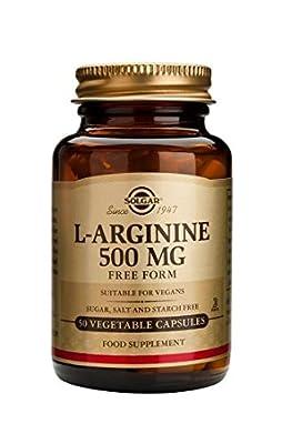 Solgar L-arginine 500 Mg Vegetable Capsules